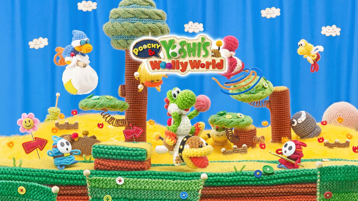 Poochy & Yoshi's Woolly World – 01