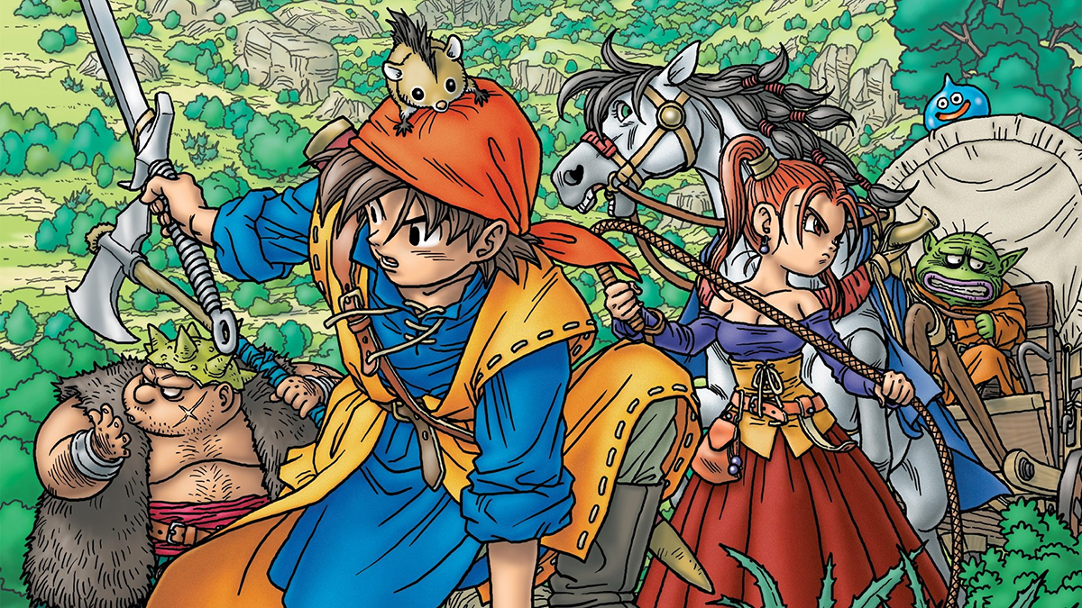 Dragon Quest VIII Journey of the Cursed King – 01