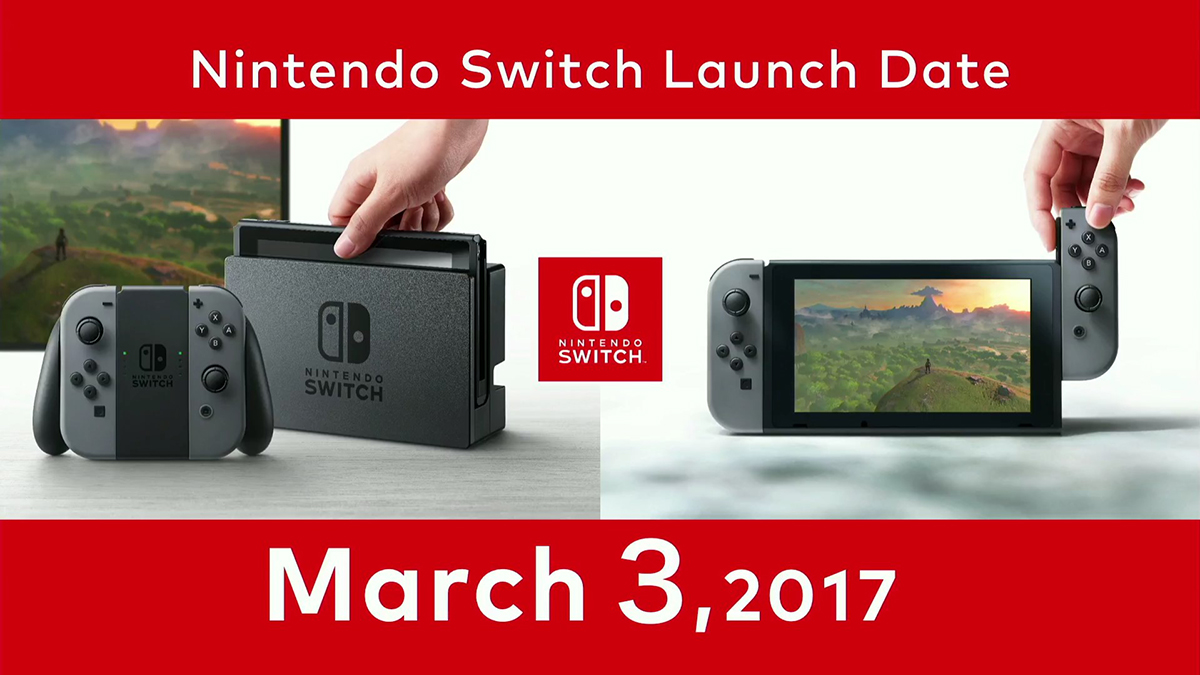 Nintendo Switch – Launch Date 01