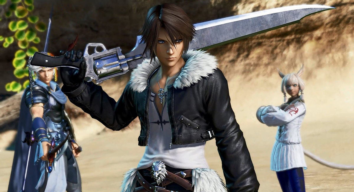 Dissidia Final Fantasy – 01