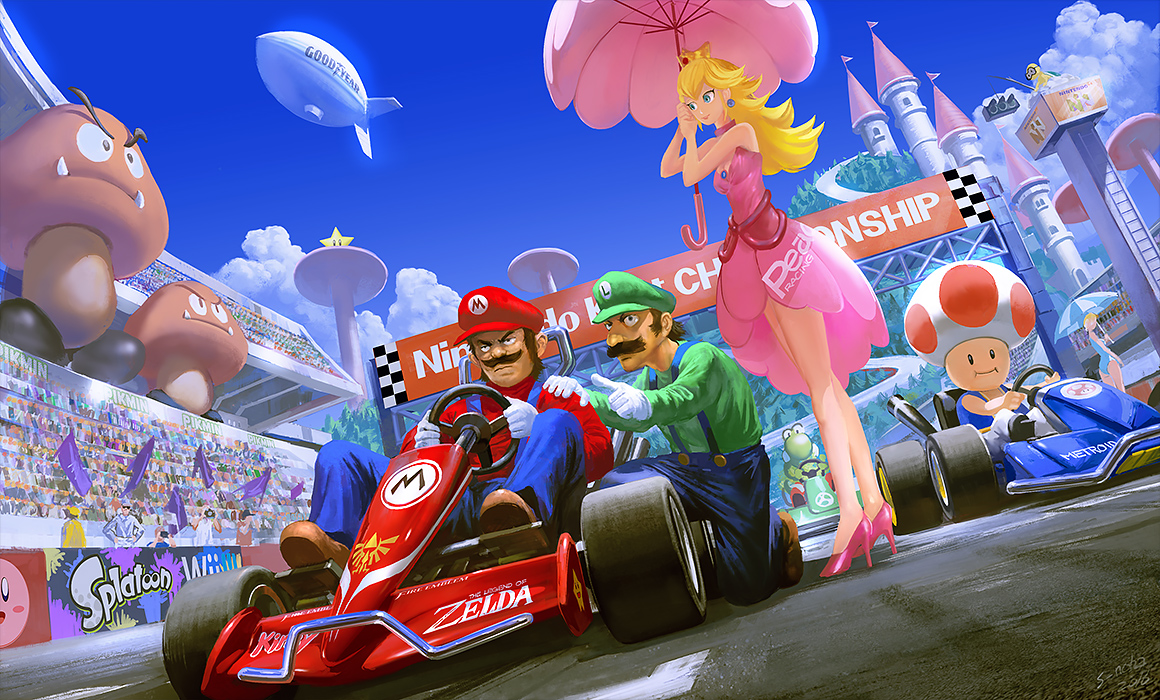 Mario Kart Tournament – 02