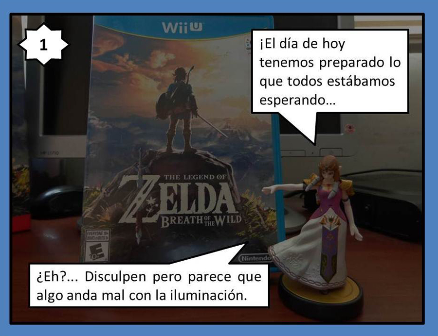 Sunlight Comics 005 – The Legend of Zelda Breath of the Wild Unboxing – 01