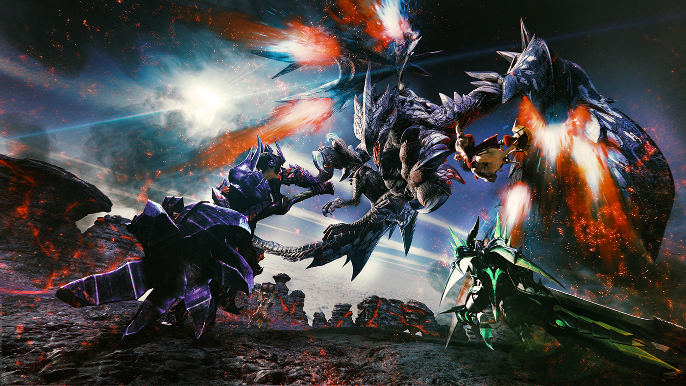 Monster Hunter XX – 01