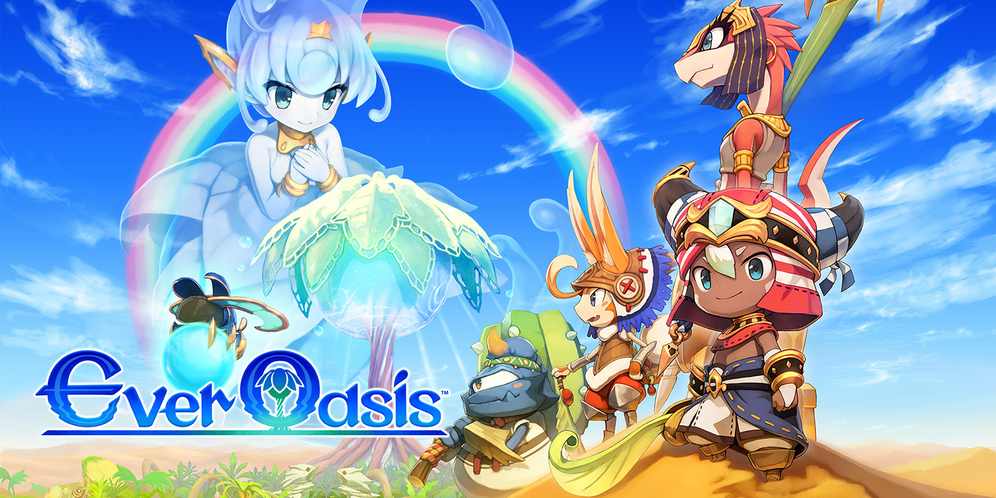 Ever Oasis – 01