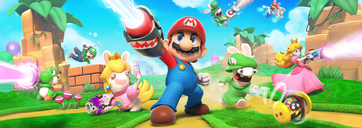 Mario + Rabbids Kingdom Battle – 01