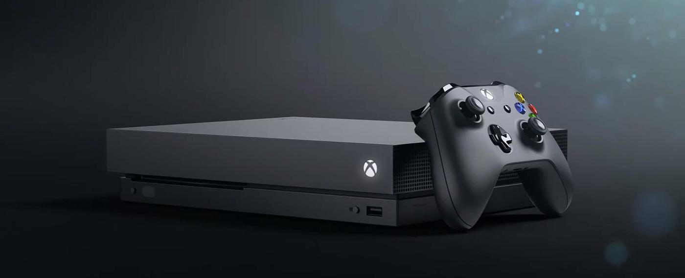 Xbox One X – 01