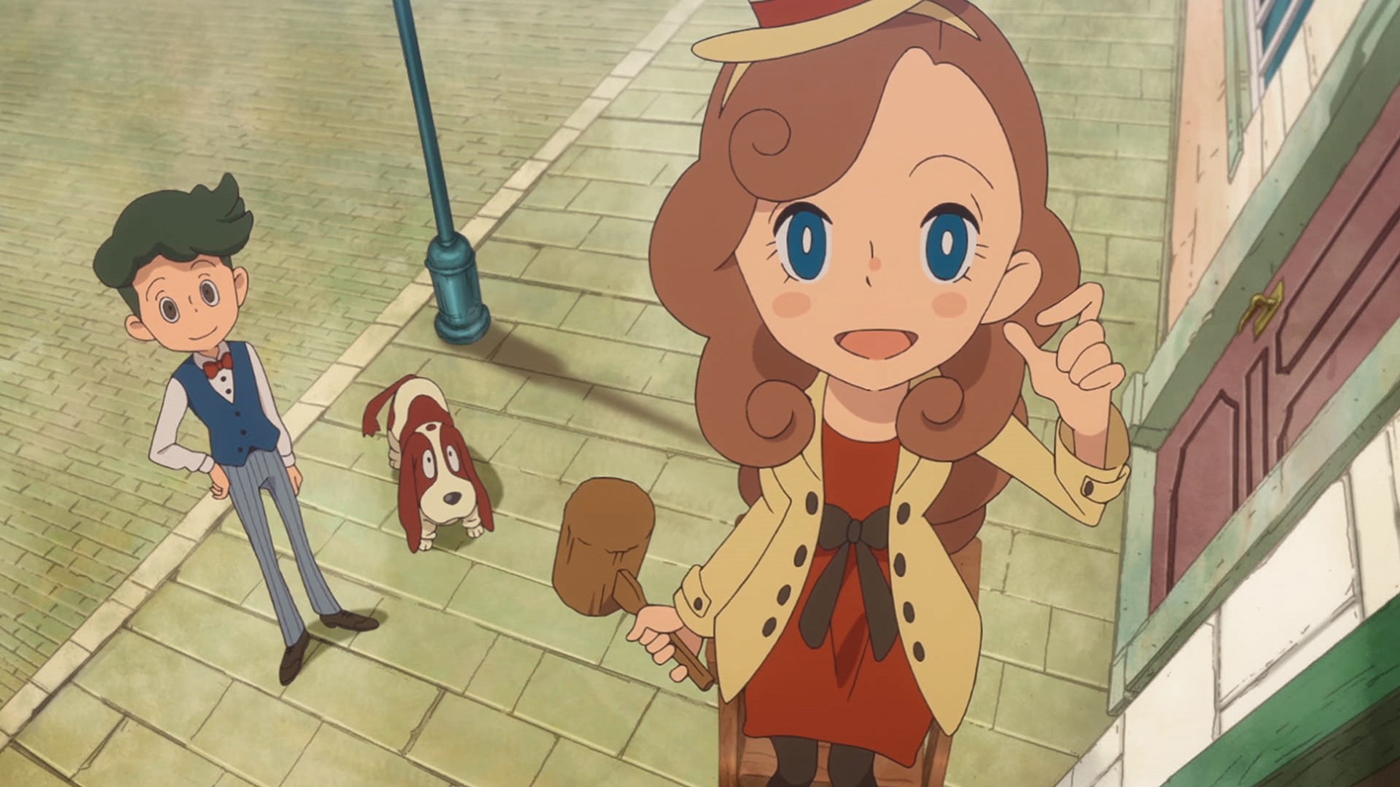 Layton's Mystery Journey – Katrielle and the Millionaires' Conspiracy – 01