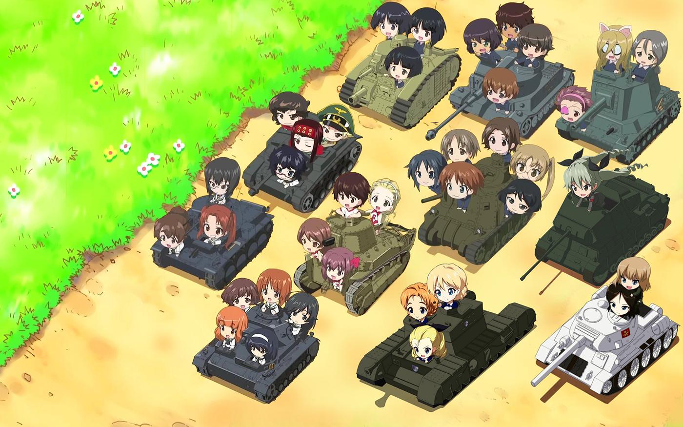 Girls UND Panzer – 02