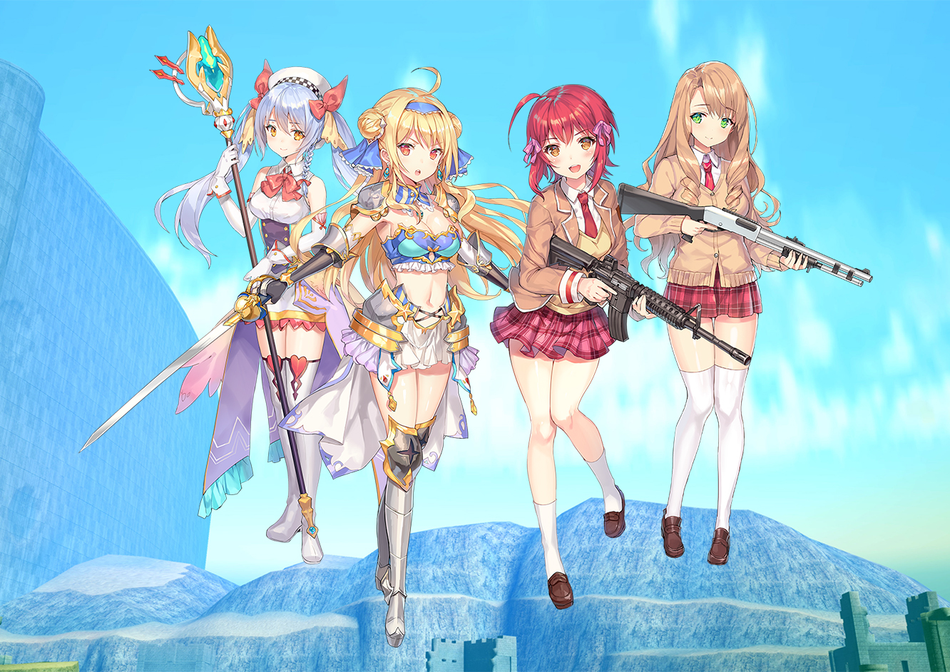 Bullet Girls Phantasia – 01