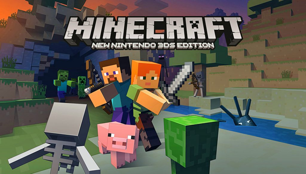 Minecraft New Nintendo 3DS – 01