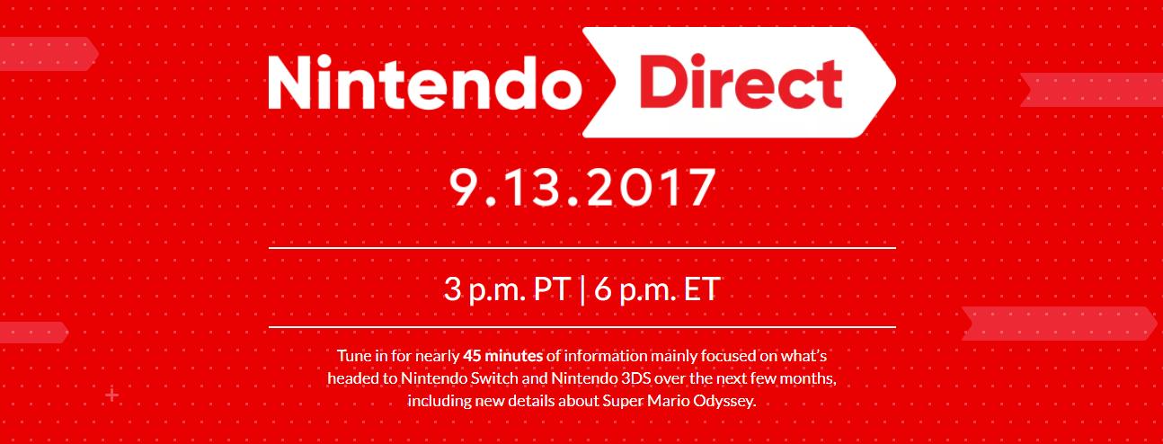 Nintendo Direct – 01