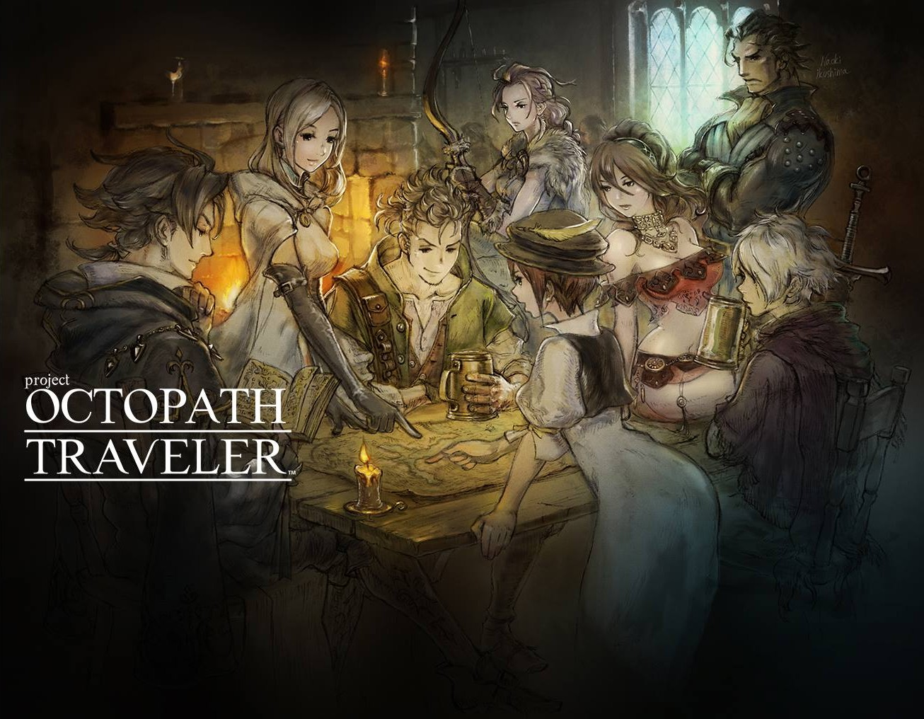 Project Octopath Traveler – 01