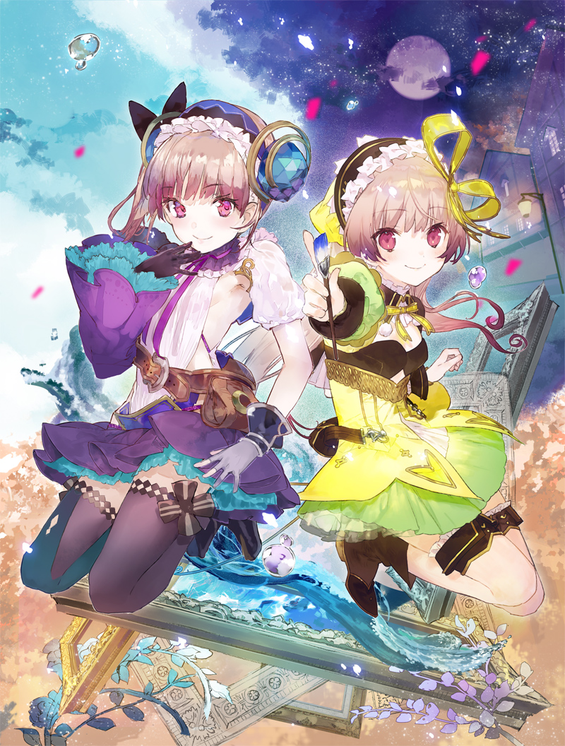 Atelier Lydie & Suelle The Alchemists & the Mysterious Paintings – 01