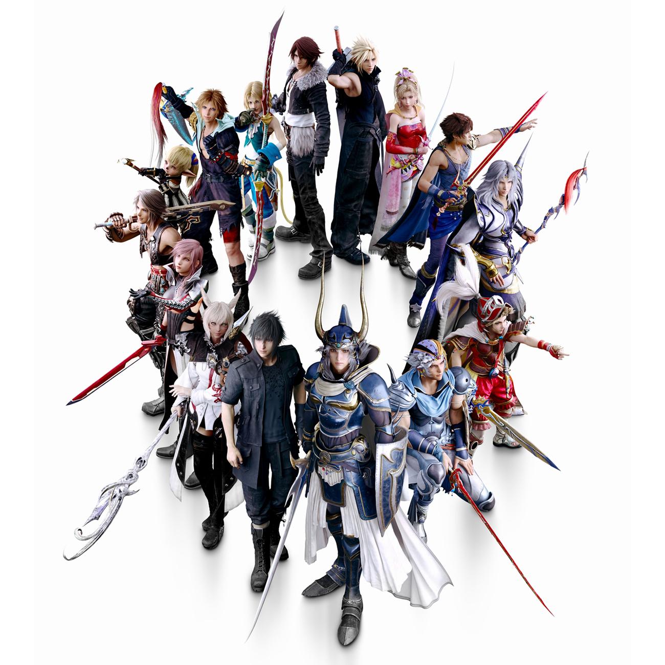 Dissidia Final Fantasy NT – 01